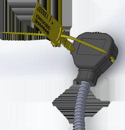 Пломбирование сенсора датчика угла наклона