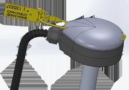 Пломбирование датчика контроля расхода топлива