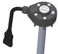 Корпус датчика контроля расхода топлива