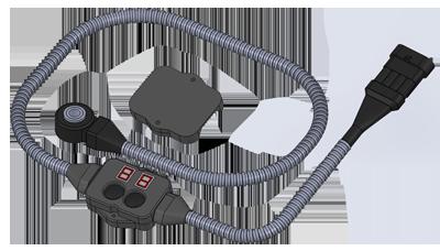 Датчик контроля моточасов