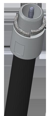 Концевая измерительная трубка ДУТ-КВ-Р01
