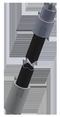 Промежуточная измерительная трубка датчика ДУТ-КВ-Р01