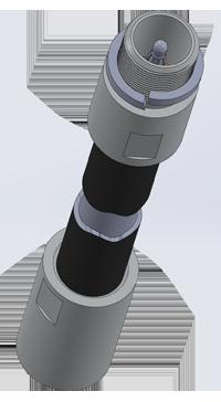 Промежуточная измерительная трубка датчика ДУТ-КВ-РВ03