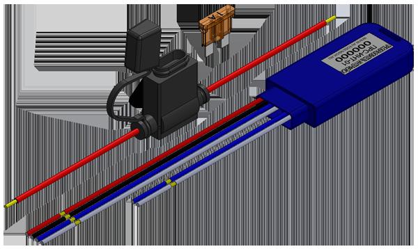 Беспроводной датчик присутствия пассажира ДП-Р01   Автосенсор